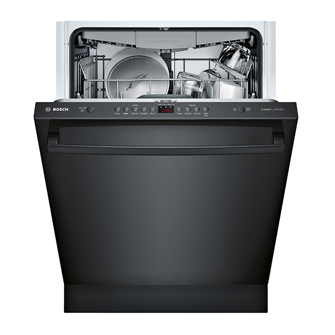"Dishwasher with RackMatic(R) - 100 Series - 24"" - Black"