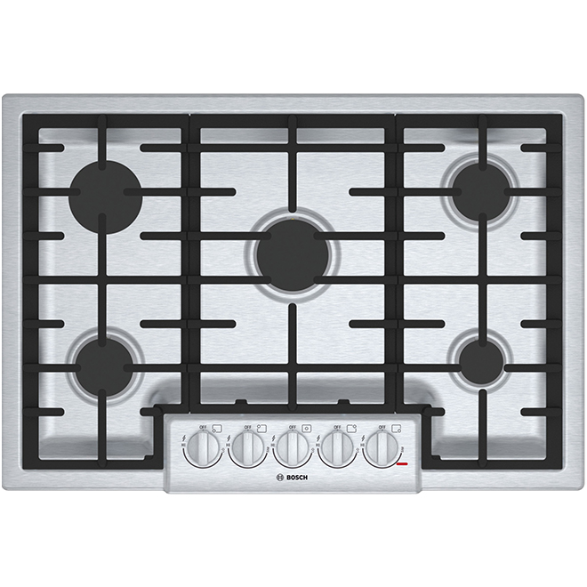 "Gas Cooktop - 800 Series - 30"" - Stainless Steel"