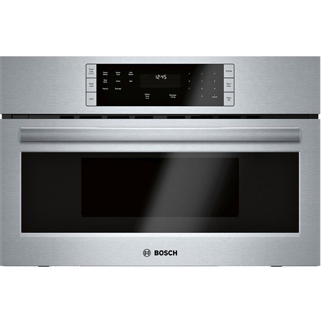 Bosch Built-In Microwave Oven - 30'' - 1.6 cu.ft. - Stainless