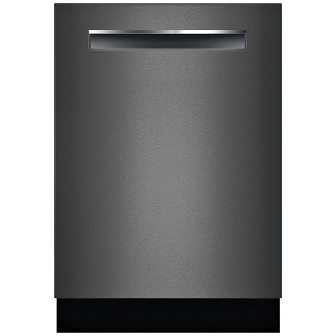 "Bosch 800 Series Built-In Dishwasher - 24"" - Black Stainless"