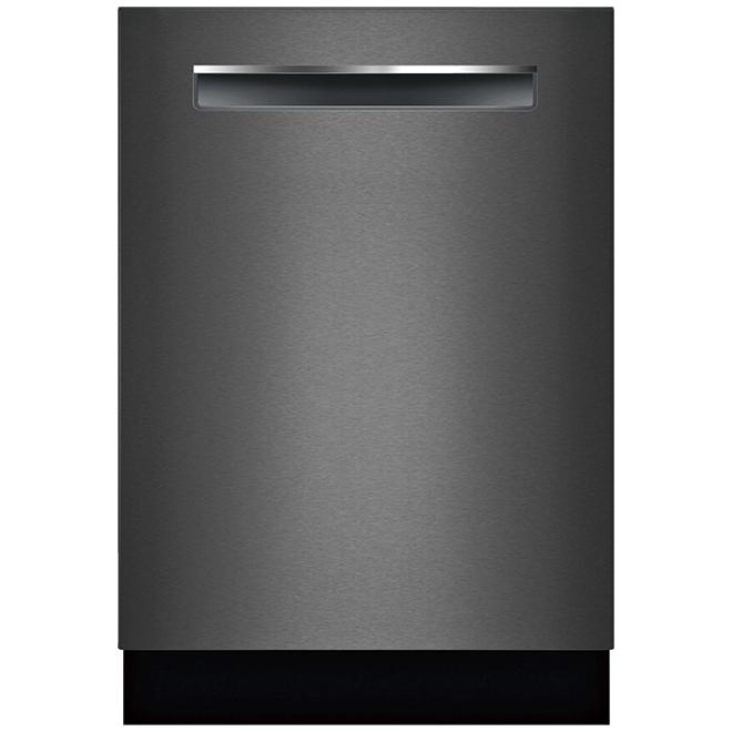 """Lave-vaisselle encastré Bosch, Série 800, 24"""", inox noir"""