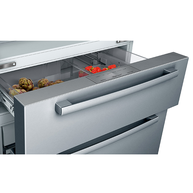 Refrigerator with FarmFresh System(TM) -21 cu. ft.- Stainless