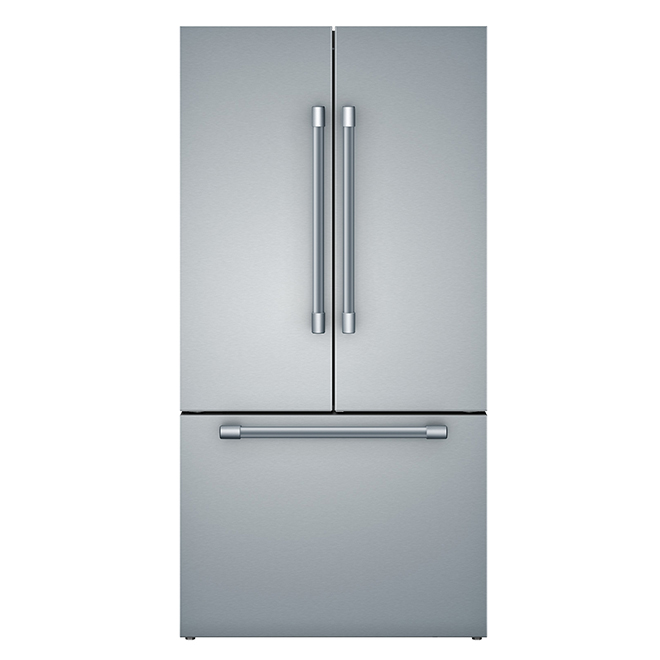 Bosch Refrigerator with Pro Handles - 21 cu. ft. - Stainless