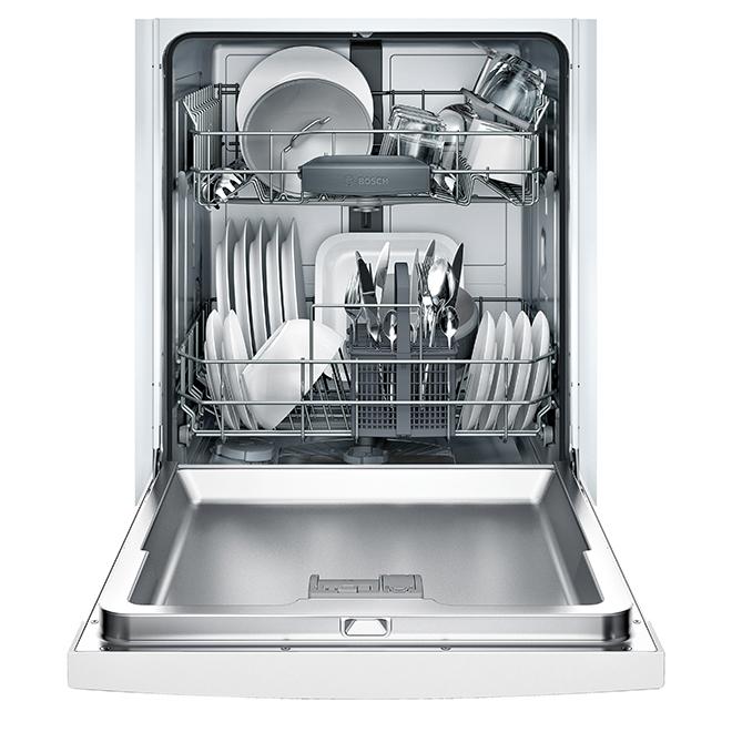 """Built-In Bosch Dishwasher - 24"""" - White"""