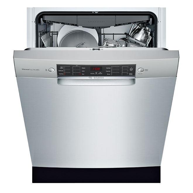 "Bosch Built-In Dishwasher - 300 Series - 24"" - 4 Cycles - SS"