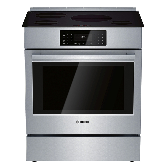 "Bosch Induction Rage with Convection  - 32"" - 4.6 cu. ft. - SS"