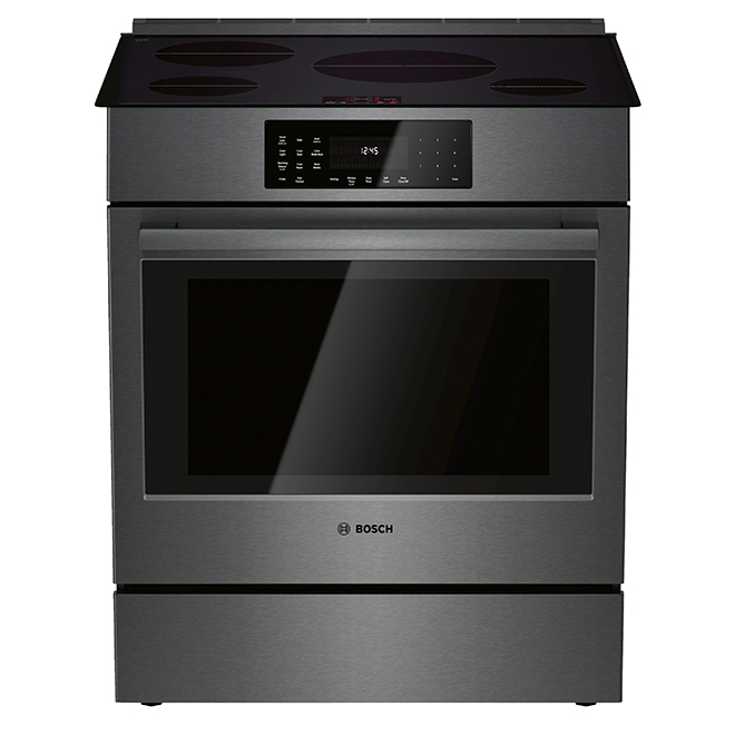 Bosch Induction Rage with Convection  - 4.6 cu. ft. - Black SS
