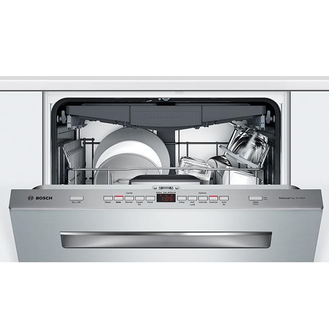 """Lave-vaisselle encastré Bosch Série 500, 24"""", acier inoxydable"""
