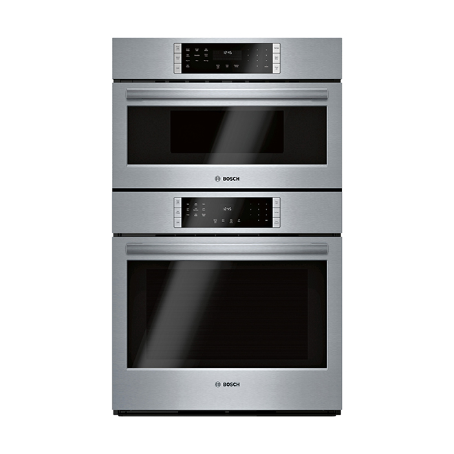 "Bosch Combination Wall Oven with Convection - 30"" - Stainless"