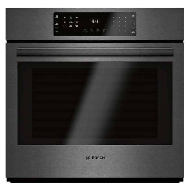 "Bosch Convection Wall Oven - 800 Series - 30"" - Black Stainless"