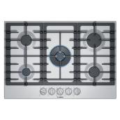 "Bosch Gas Cooktop - 5 Burners - 30"" - Stainless Steel"