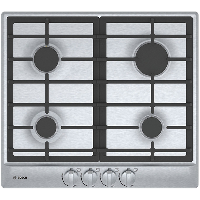 "Bosch Cooktop - 24"" - 11,500 BTU - Stainless Steel"