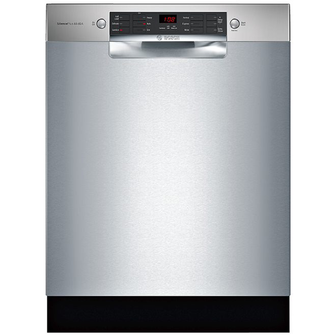 "Bosch 24"" Built-In Dishwasher - AquaStop - 800 Series - SS"