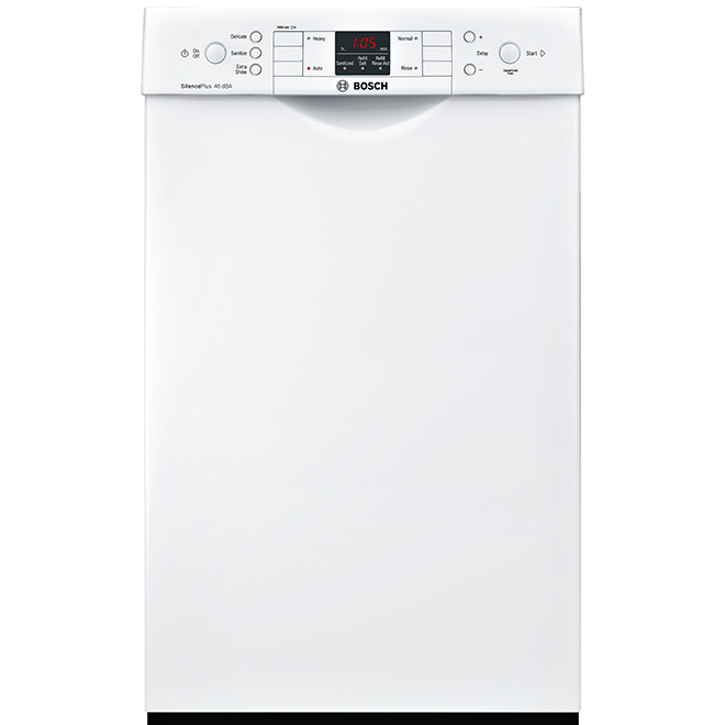 """Bosch 300 Series Built-In Dishwasher - AquaStop - 18"""" - White"""