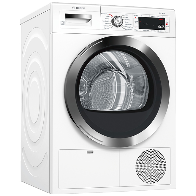 Bosch -Dryer - Front Load - 4 cu. ft. - 24'' -  White