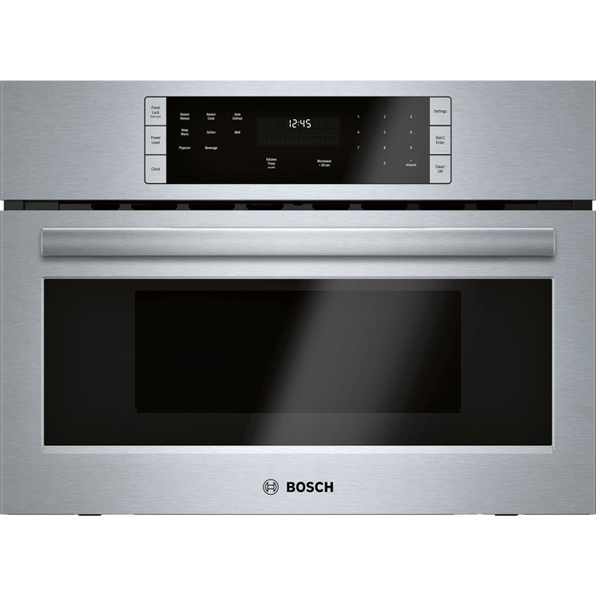 Bosch Built-In Microwave Oven - 500 Series - 950 W - Stainless