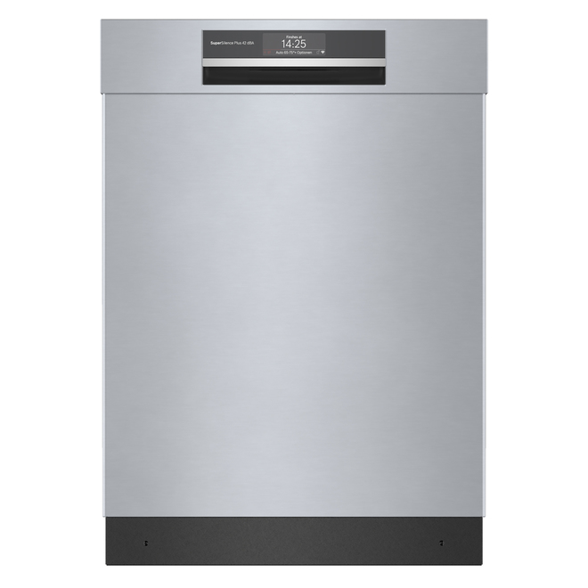 Bosch 800 Series Built-In Dishwasher with Home Connect - 24-in - Stainless Steel