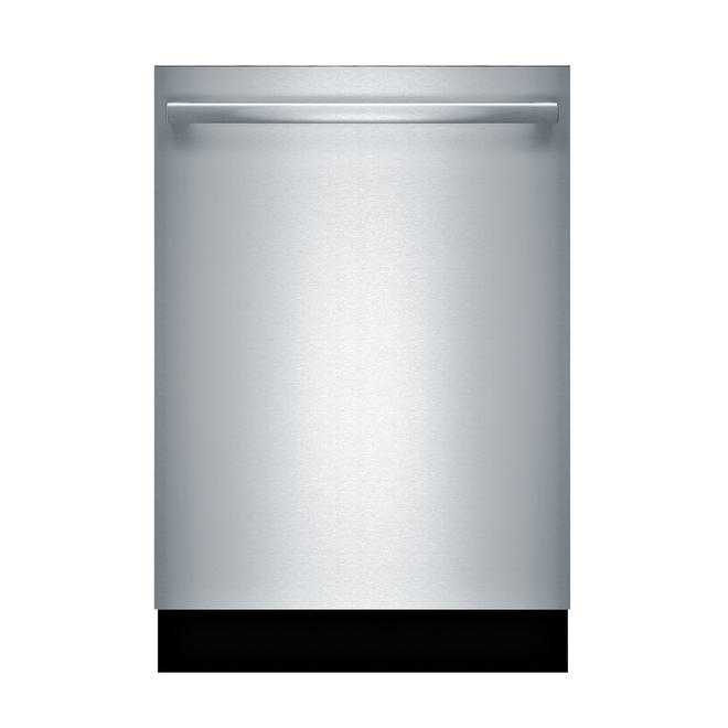 Bosch 800 Series Built-In Dishwasher with CrystalDry and Bar Handle - 24-in - Stainless Steel