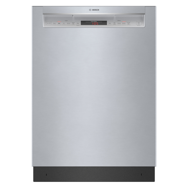 Bosch Built-In Dishwasher with CrystalDry(TM) - 24-in - Stainless Steel