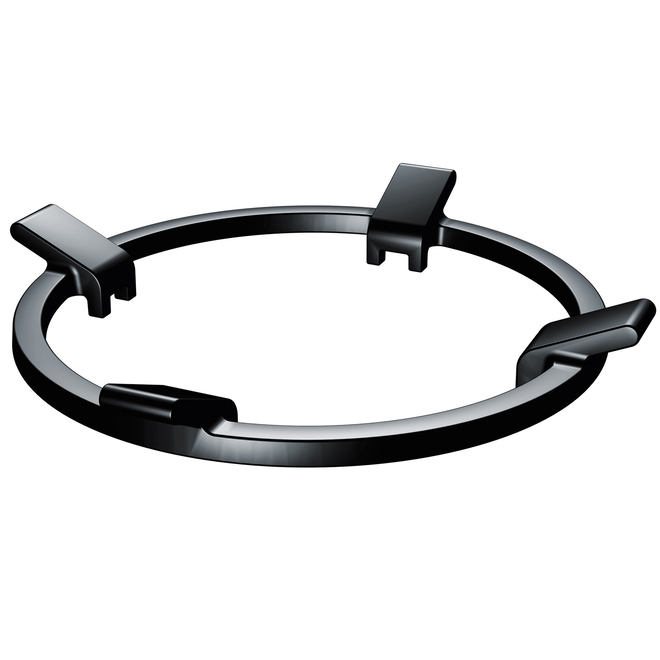 Bosch - Wok Ring for Range - 9.57-in - Cast Iron - Black