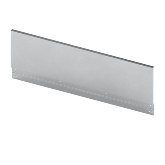 Bosch Back Guard For 30-in Range in Stainless Steel - 9-in