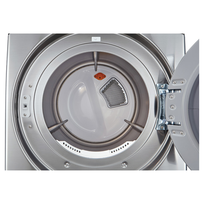Electric Dryer with Moisture Sensors-7.4 cu. ft- Graphite