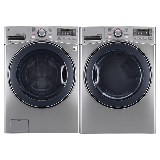 Dryer with TrueSteam™ Technology - 7.4 cu. ft. -Graphite Steel