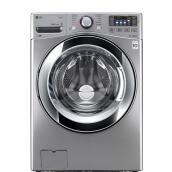 Laveuse à chargement frontal avec vapeur, 5,2 pi³, graphite