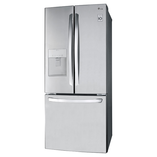 Refrigerator with Water Dispenser - 21.8 cu. ft. - Stainless