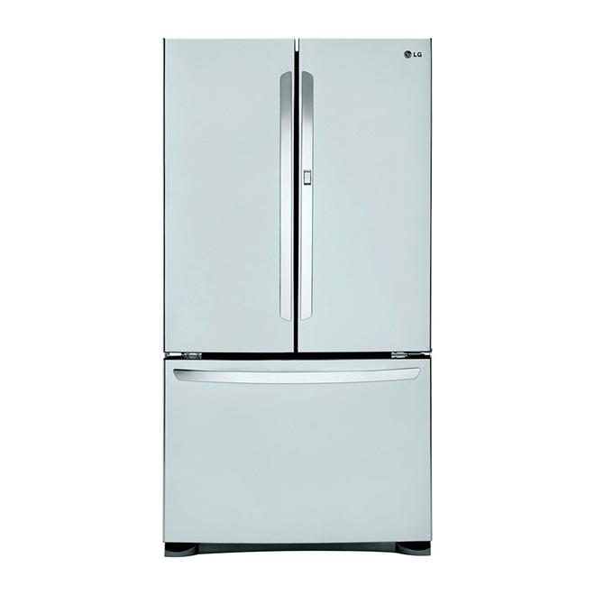 refrigerator with door-in-door™ - 24 8 cu  ft  - stainless