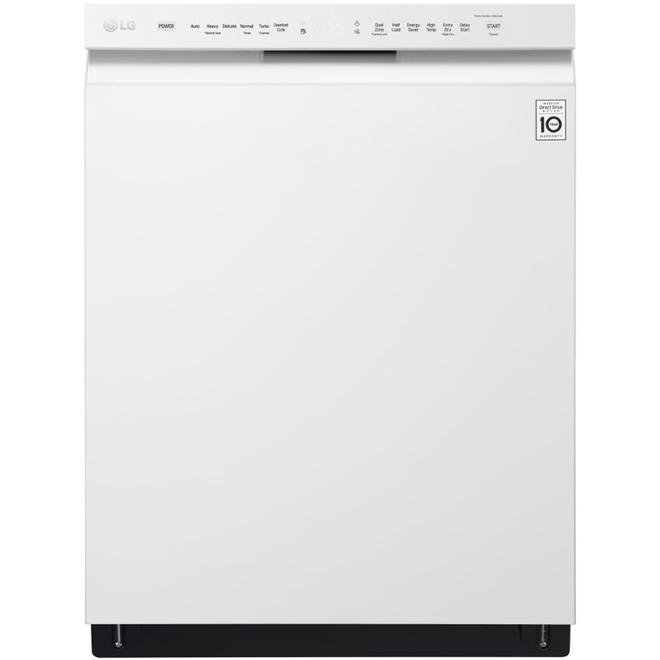 """Lave-vaisselle 24"""" avec système Quadwash(MC), blanc"""
