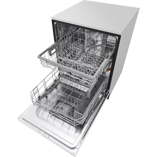 "24"" Dishwasher with Quadwash System - White"