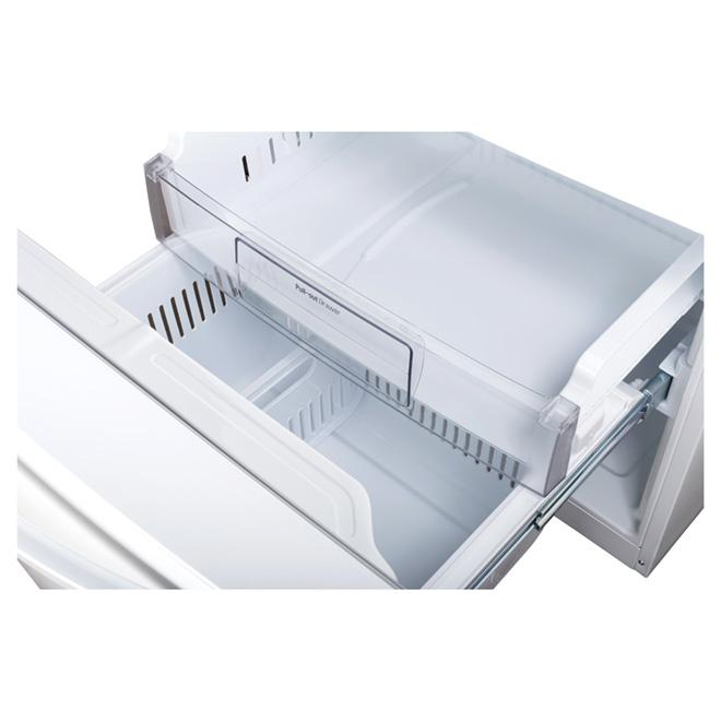 "French-Door Refrigerator - 30"" - 21.8 cu. ft. - White"