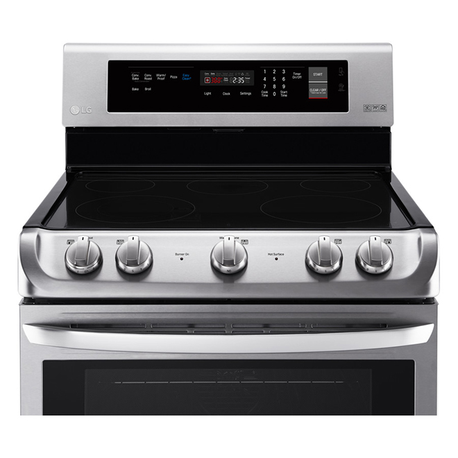 Freestanding Electric Range - 6.3 cu. ft. - Stainless Steel