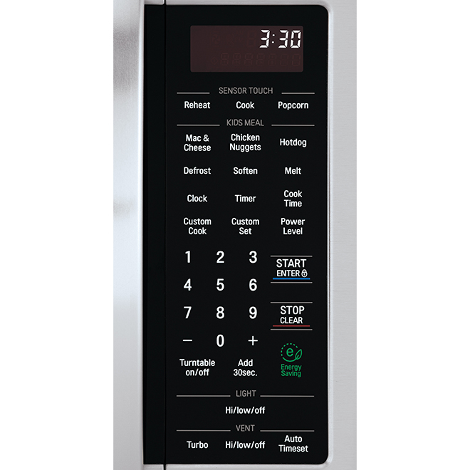 LG Over-the-Range Microwave Oven - 2-cu ft - 400 CFM - Stainless Steel -EasyClean