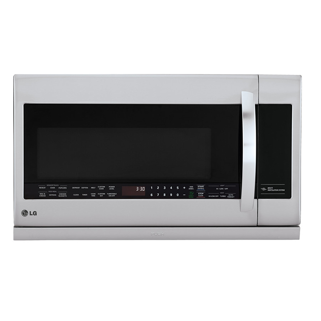 LG Over-The-Range Microwave - 2.2 cu. ft. - Stainless Steel