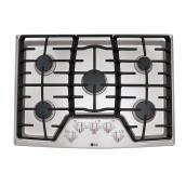 "LG Gas Built-In Cooktop - 30"" - Stainless Steel"