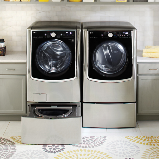 Electric Dryer with Wi-Fi  - 9,0 cu ft. - Stainless