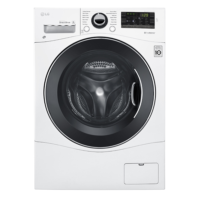 All-In-One Washer/Dryer Combo - 2.6 cu. ft. - White