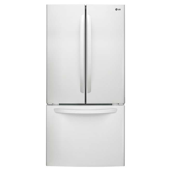 Refrigerator with Smart Cooling -24 cu. ft.- White