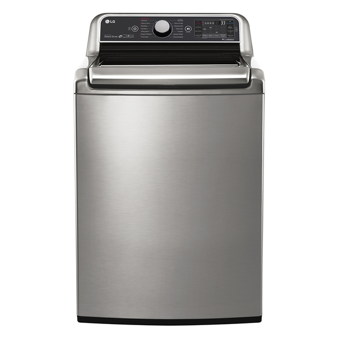 "Washer with Steam and TurboWash(R) - 27"" -6 cu. ft.-Graphite"