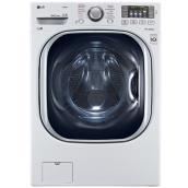 Laveuse superposable à chargement frontal, HE, 5,2pi³, blanc