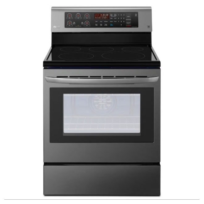 Lg Electric Range With True Convection And Easyclean 6 3 Cu Ft