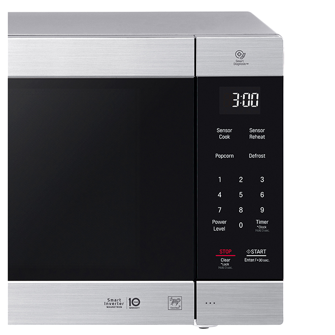 Counter Top Microwave Oven - 2 cu. ft. - 1200 W - Stainless