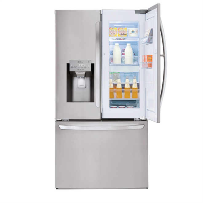 French-Door Refrigerator - 28 cu. ft. - Stainless Steel