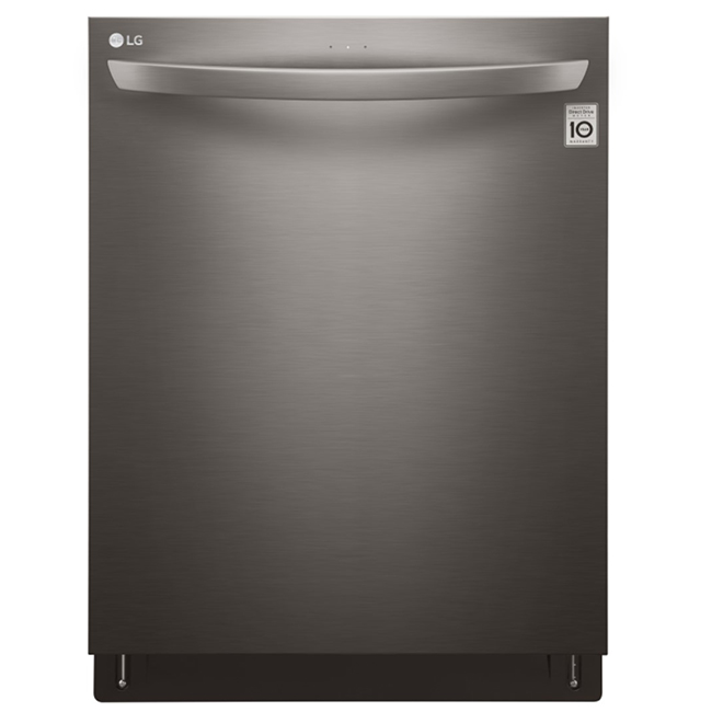 Dishwasher with QuadWash and EasyRack Plus - Black Stainless