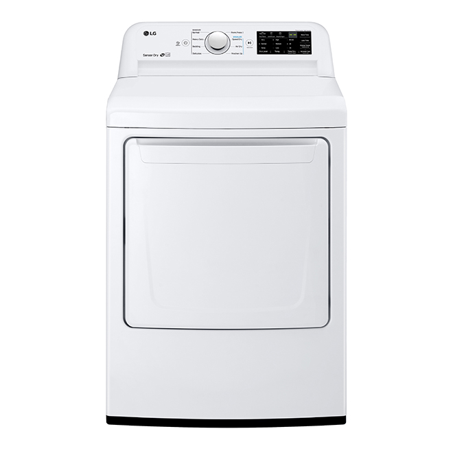 Electric Dryer with Sensor Dry Technology - 7.3 cu. ft. - White