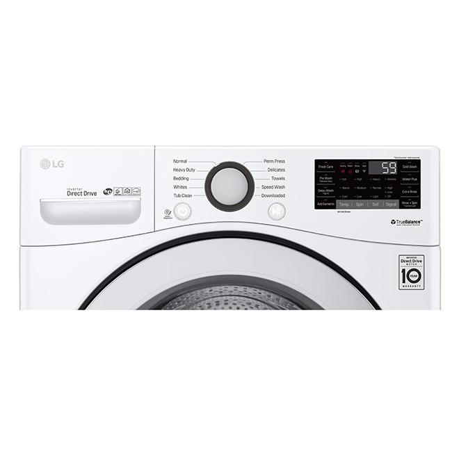 Laveuse à chargement frontal avec 6Motion(MC), 5,2 pi³, blanc