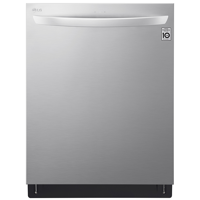 """LG Smart Built-In Dishwasher with TrueSteam(R) - 24"""" - SS"""