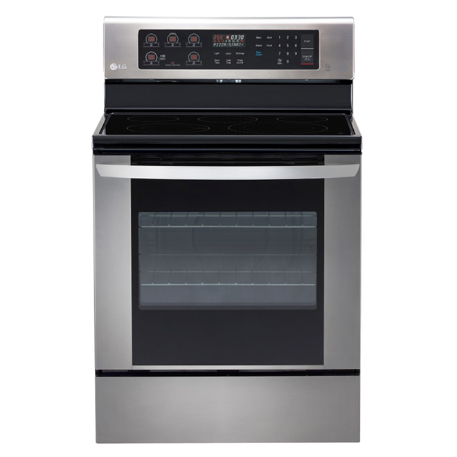 Electric Range with Easy Clean(R) - 6.3 cu.ft. - SS